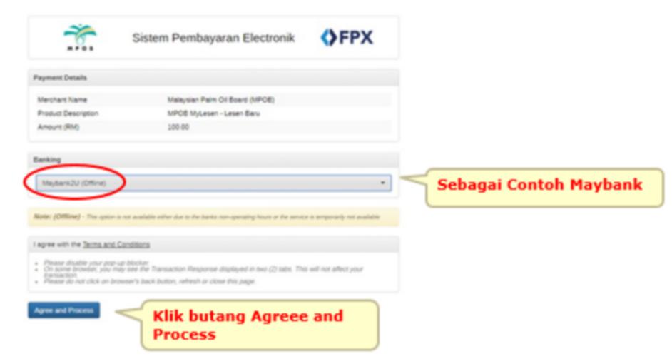 Panduan Melaksanakan Pembayaran Secara Online Fpx